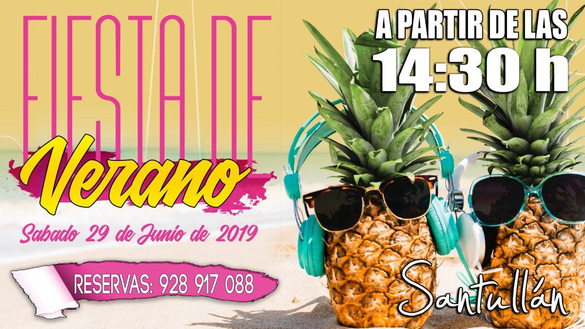 Fiesta Inauguración Oficial del Verano 2019 en Santullán