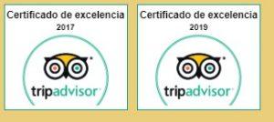 Certificados de excelencia 2017-2019